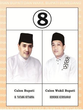 Calon Bupati No 8